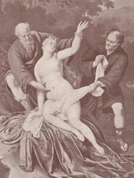 Suzanne et les Deux Vieillards (Frans van Mieris de Oudere), 1898