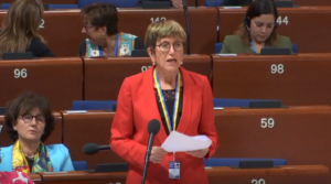 Maryvonne Blondin au Conseil de l'Europe